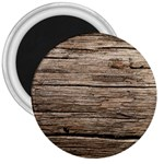 WEATHERED WOOD 3  Magnets Front