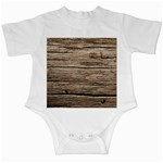 WEATHERED WOOD Infant Creepers Front