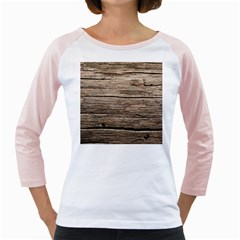 Weathered Wood Girly Raglans
