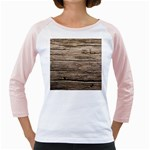 WEATHERED WOOD Girly Raglans Front