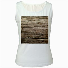 Weathered Wood Women s Tank Tops