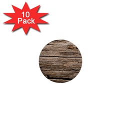 Weathered Wood 1  Mini Buttons (10 Pack)