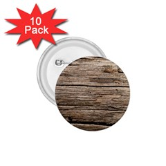 Weathered Wood 1 75  Buttons (10 Pack)