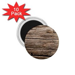 Weathered Wood 1 75  Magnets (10 Pack)