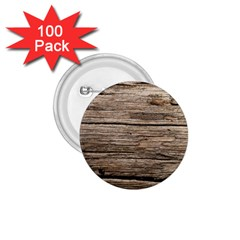 Weathered Wood 1 75  Buttons (100 Pack)