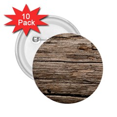 Weathered Wood 2 25  Buttons (10 Pack)