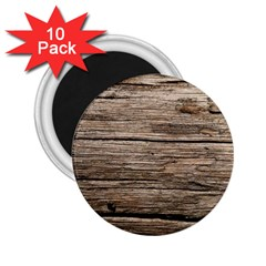 Weathered Wood 2 25  Magnets (10 Pack)