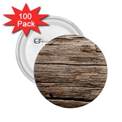 Weathered Wood 2 25  Buttons (100 Pack)