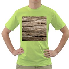 Weathered Wood Green T Shirt