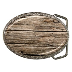 Weathered Wood Belt Buckles