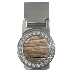 Weathered Wood Money Clips (cz)
