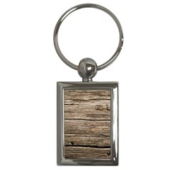 Weathered Wood Key Chains (rectangle)