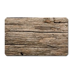 Weathered Wood Magnet (rectangular)