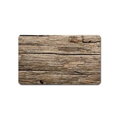 Weathered Wood Magnet (name Card)