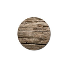 Weathered Wood Golf Ball Marker (4 Pack)