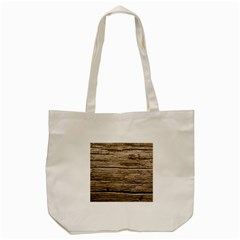 Weathered Wood Tote Bag (cream)