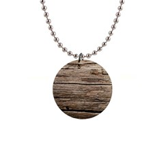 Weathered Wood Button Necklaces