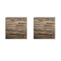 Weathered Wood Cufflinks (square)
