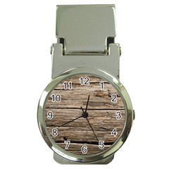 Weathered Wood Money Clip Watches