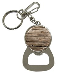 Weathered Wood Bottle Opener Key Chains