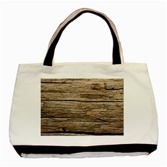Weathered Wood Basic Tote Bag