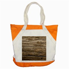 Weathered Wood Accent Tote Bag