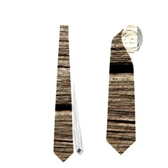 WEATHERED WOOD Neckties (One Side)