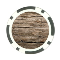 WEATHERED WOOD Poker Chip Card Guards