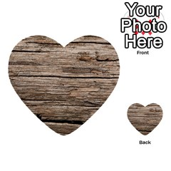 Weathered Wood Multi Purpose Cards (heart)