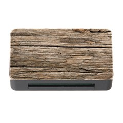 WEATHERED WOOD Memory Card Reader with CF
