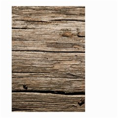 WEATHERED WOOD Small Garden Flag (Two Sides)
