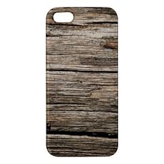 WEATHERED WOOD Apple iPhone 5 Premium Hardshell Case
