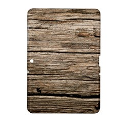 WEATHERED WOOD Samsung Galaxy Tab 2 (10.1 ) P5100 Hardshell Case