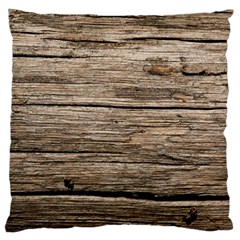 Weathered Wood Standard Flano Cushion Cases (one Side)