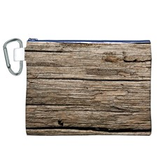 WEATHERED WOOD Canvas Cosmetic Bag (XL)