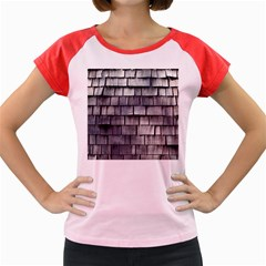 Weathered Shingle Women s Cap Sleeve T Shirt