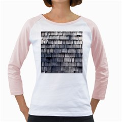Weathered Shingle Girly Raglans