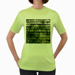 Weathered Shingle Women s Green T Shirt