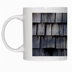 Weathered Shingle White Mugs