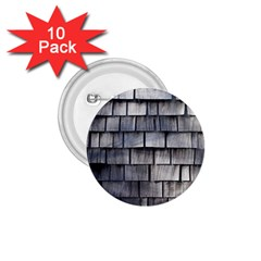 Weathered Shingle 1 75  Buttons (10 Pack)