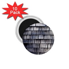 Weathered Shingle 1 75  Magnets (10 Pack)
