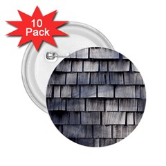 Weathered Shingle 2 25  Buttons (10 Pack)