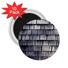 Weathered Shingle 2 25  Magnets (10 Pack)