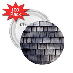 Weathered Shingle 2 25  Buttons (100 Pack)