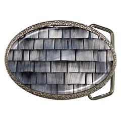 Weathered Shingle Belt Buckles