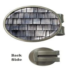Weathered Shingle Money Clips (oval)