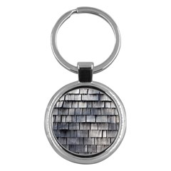 Weathered Shingle Key Chains (round)