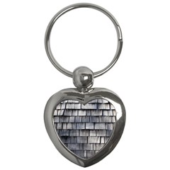 Weathered Shingle Key Chains (heart)