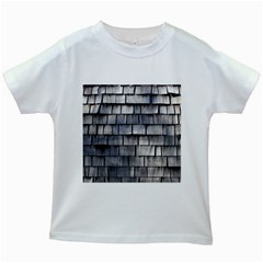 Weathered Shingle Kids White T Shirts