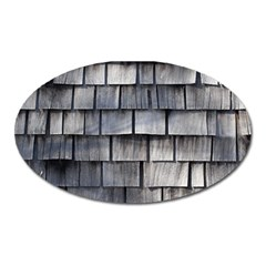 Weathered Shingle Oval Magnet